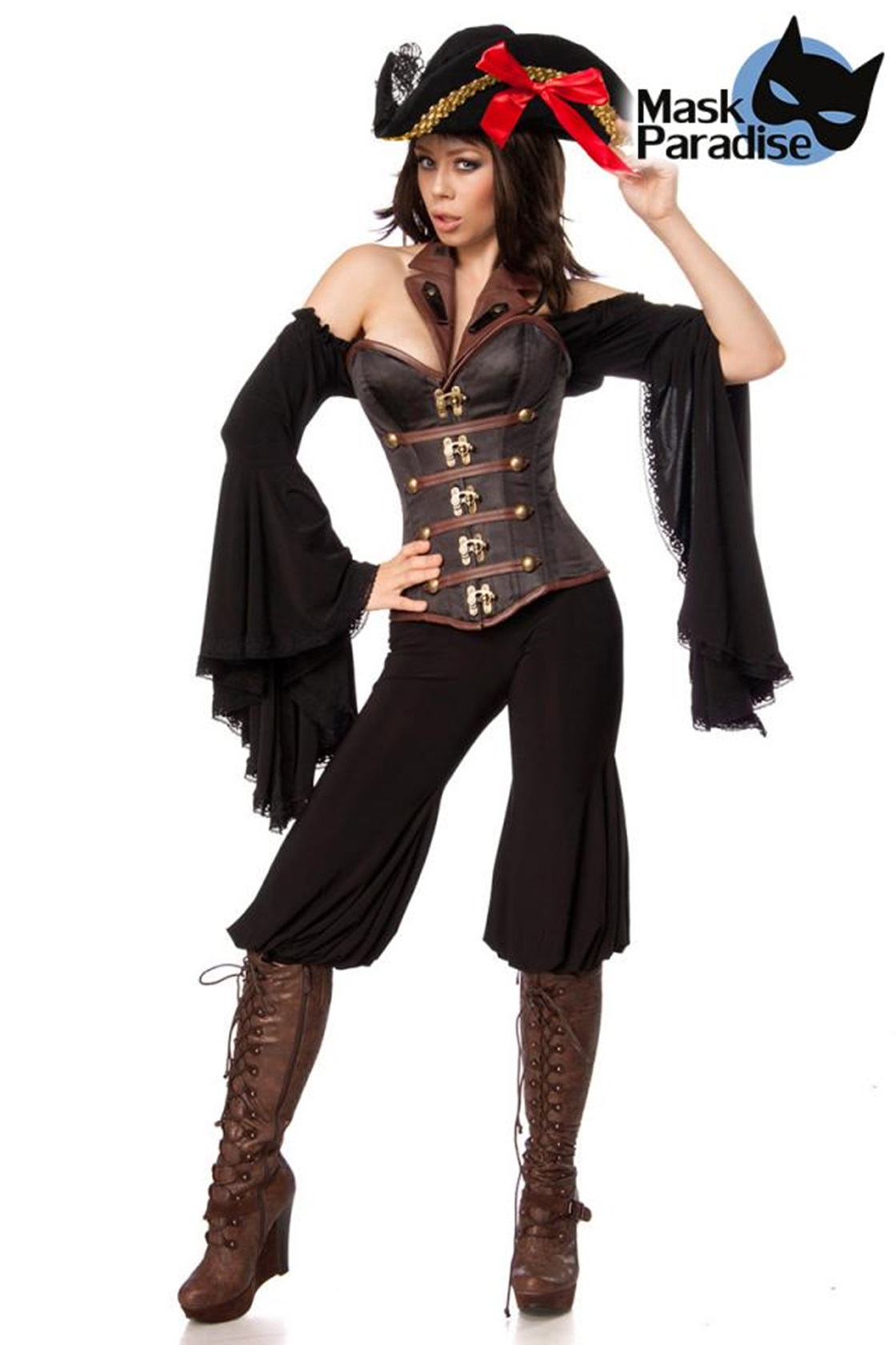80120 Piratenkostüm Female Pirate von Mask Paradise  EAN: 4251302117958